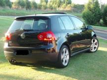 A Black Volkswagen